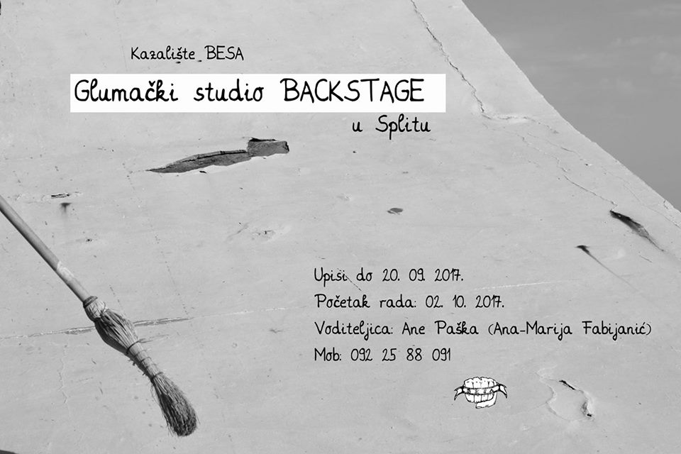 Backstage Split plakat